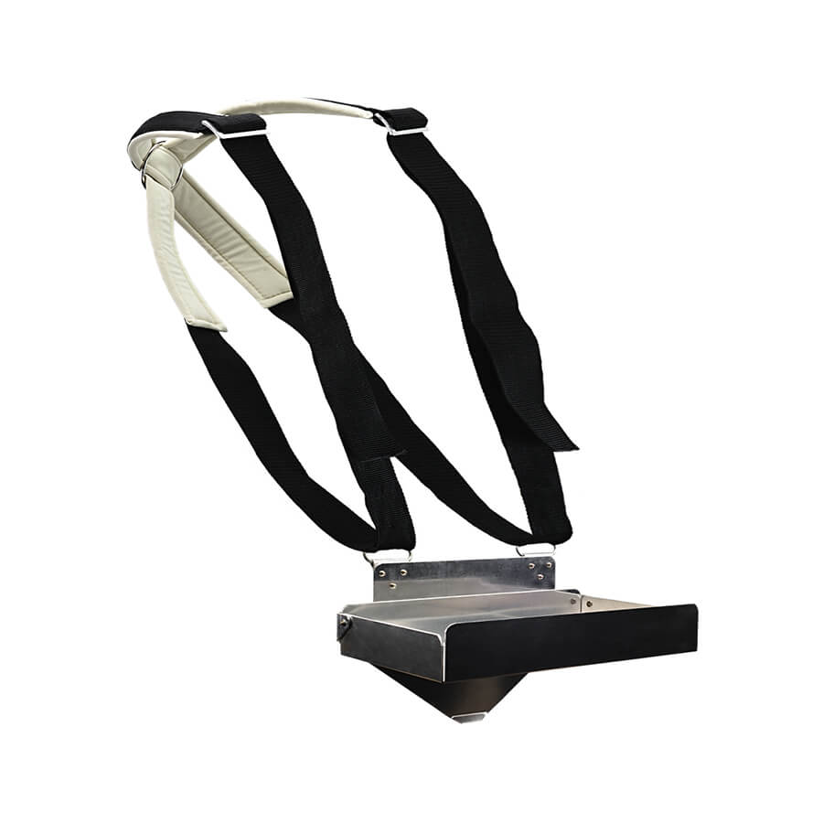 Berry harvest support with comfort carrying strap 6x250