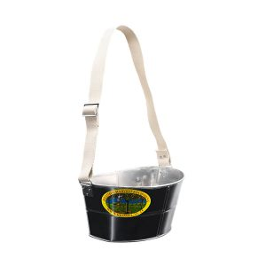 Cherry picking bucket low with carrying strap